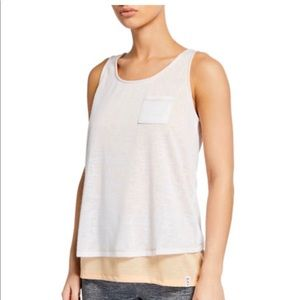 NWT Women's Marc NY Performance Twofer Layered Top